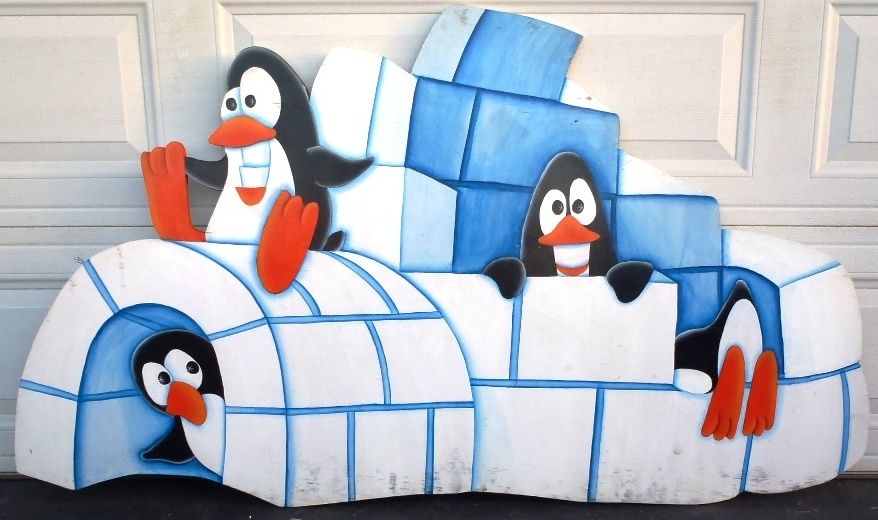 penquin igloo w4 penguins