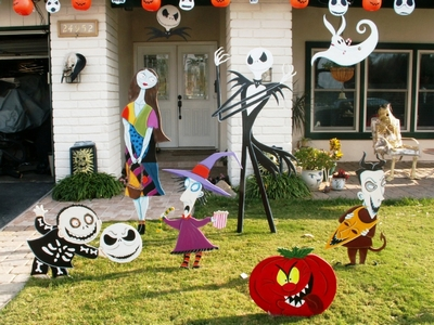 Halloween Yard.Fun Halloween Yard Decorations Displays