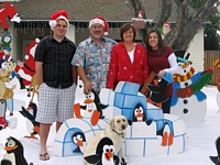 bobs creative displayscom front yard displays decorations - Christmas Yard Decorations Patterns